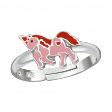 Unicorn - 925 Sterling Silver Rings for kids A4S38689