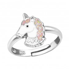 Unicorn - 925 Sterling Silver Rings for kids A4S39435