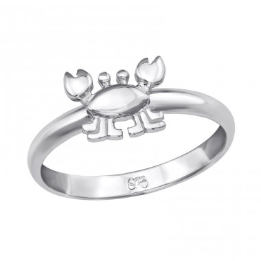 Crab - 925 Sterling Silver Rings for kids A4S39831