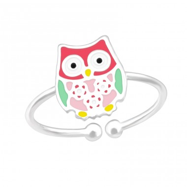 Owl - 925 Sterling Silver Rings for kids A4S39894