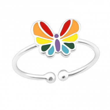 Butterfly - 925 Sterling Silver Rings for kids A4S39895