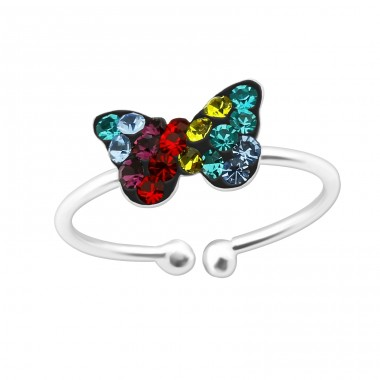 Butterfly - 925 Sterling Silver Rings for kids A4S39896
