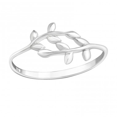 Olive Branch - 925 Sterling Silver Rings for kids A4S40272