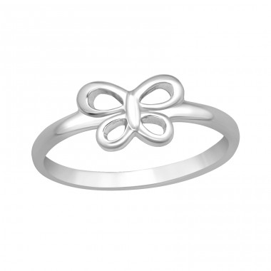 Butterfly - 925 Sterling Silver Rings for kids A4S40753
