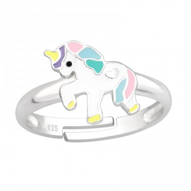 Unicorn - 925 Sterling Silver Rings for kids A4S41532