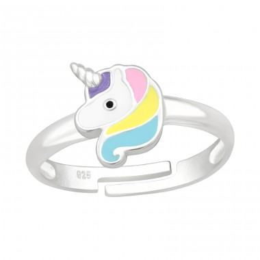 Unicorn - 925 Sterling Silver Rings for kids A4S41534