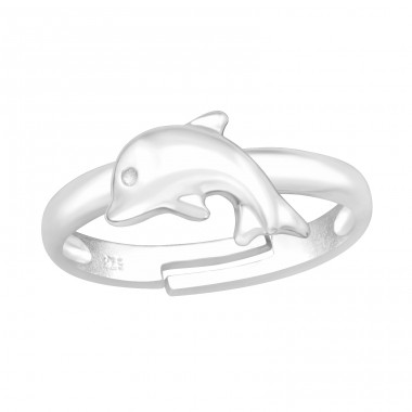 Dolphin - 925 Sterling Silver Rings for kids A4S41538