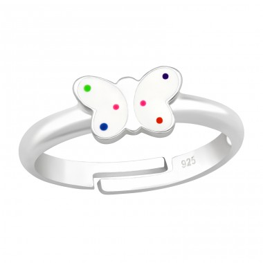 Butterfly - 925 Sterling Silver Rings for kids A4S41539