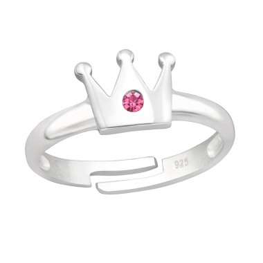 Crown - 925 Sterling Silver Rings for kids A4S41541