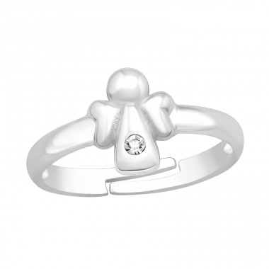 Angel - 925 Sterling Silver Rings for kids A4S41543
