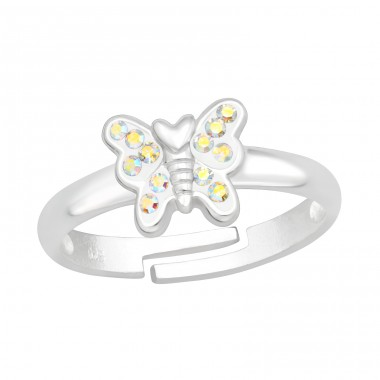 Butterfly - 925 Sterling Silver Rings for kids A4S41544