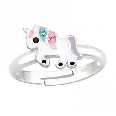 Unicorn - 925 Sterling Silver Rings for kids A4S41545