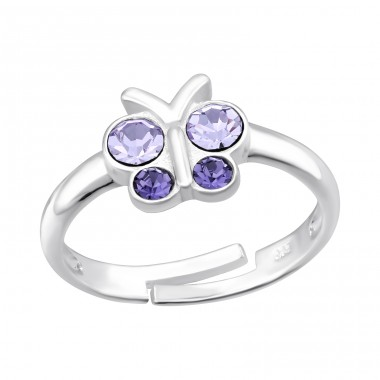 Butterfly - 925 Sterling Silver Rings for kids A4S41546