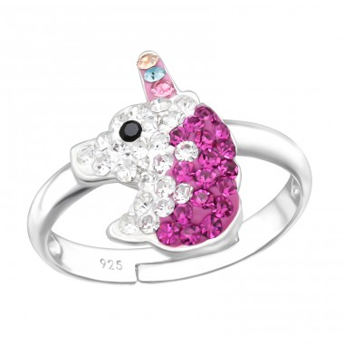 Unicorn - 925 Sterling Silver Rings for kids A4S41725