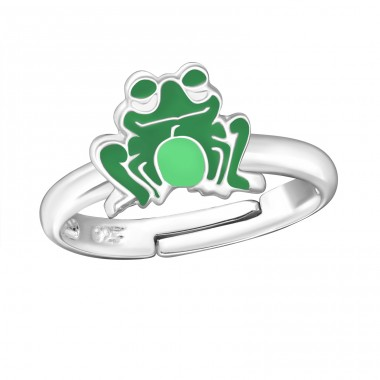 Frog - 925 Sterling Silver Rings for kids A4S5566