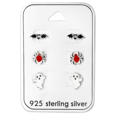 Bat - 925 Sterling Silver Jewellery sets for kids A4S28466