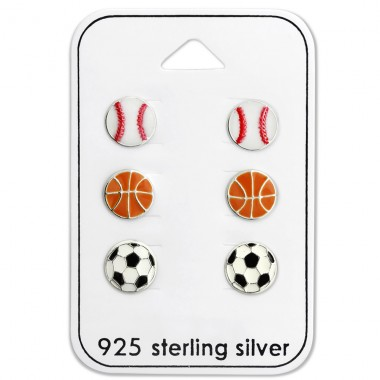 Ball - 925 Sterling Silver Jewellery sets for kids A4S28471