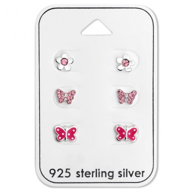Butterfly - 925 Sterling Silver Jewellery sets for kids A4S28481