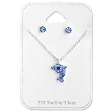 Dolphin - 925 Sterling Silver Jewellery sets for kids A4S28977