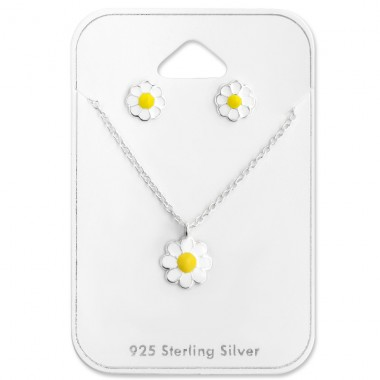 Daisy - 925 Sterling Silver Jewellery sets for kids A4S28979