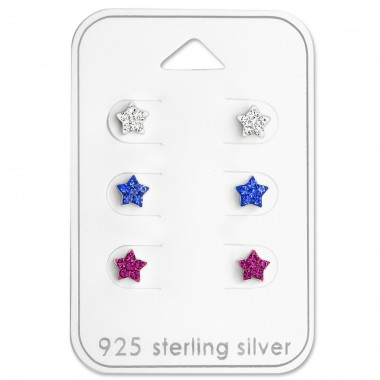 Star - 925 Sterling Silver Jewellery sets for kids A4S29113