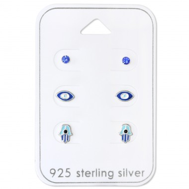 Blue Lover - 925 Sterling Silver Jewellery sets for kids A4S30767