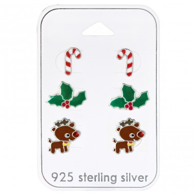 Christmas - 925 Sterling Silver Jewellery sets for kids A4S30770