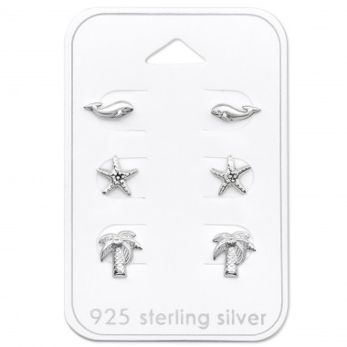 Beach - 925 Sterling Silver Jewellery sets for kids A4S30777
