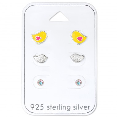 Chick - 925 Sterling Silver Jewellery sets for kids A4S31075
