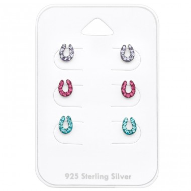 Horseshoe - 925 Sterling Silver Jewellery sets for kids A4S32376