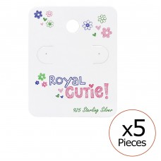 Royal Cutie! Ear Stud Cards - Paper Jewellery sets for kids A4S34077