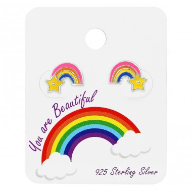Rainbow - 925 Sterling Silver Jewellery sets for kids A4S34197
