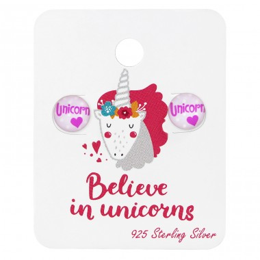 Unicorn Logo - 925 Sterling Silver Jewellery sets for kids A4S34203