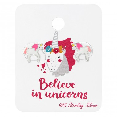 Unicorn - 925 Sterling Silver Jewellery sets for kids A4S34204