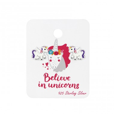 Unicorn - 925 Sterling Silver Jewellery sets for kids A4S35369