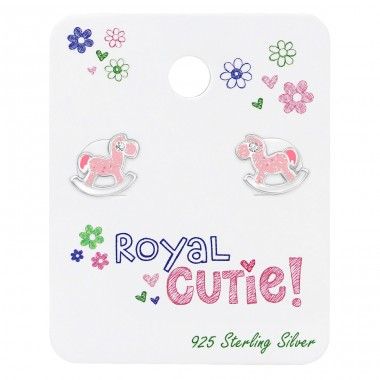Rocking Horse - 925 Sterling Silver Jewellery sets for kids A4S38071