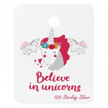 Unicorn - 925 Sterling Silver Jewellery sets for kids A4S38072