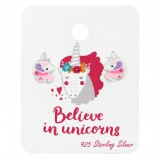 Unicorn - 925 Sterling Silver Jewellery sets for kids A4S38074