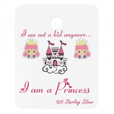 Princess - 925 Sterling Silver Jewellery sets for kids A4S38076