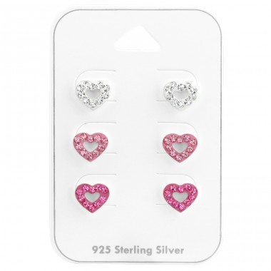 Heart - 925 Sterling Silver Jewellery sets for kids A4S38079