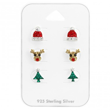Christmas - 925 Sterling Silver Jewellery sets for kids A4S38082