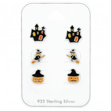 Halloween - 925 Sterling Silver Jewellery sets for kids A4S38716