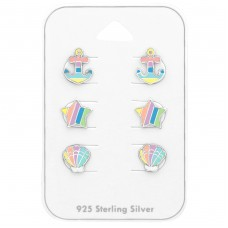 Pastel - 925 Sterling Silver Jewellery sets for kids A4S38717