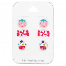 Dessert - 925 Sterling Silver Jewellery sets for kids A4S38718