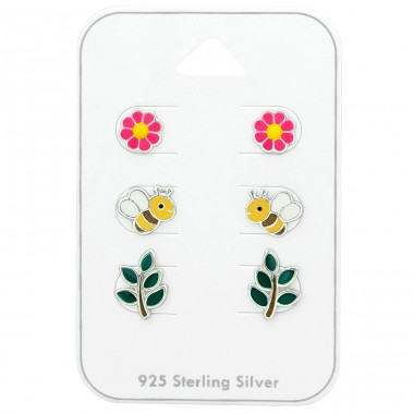 Bee - 925 Sterling Silver Jewellery sets for kids A4S38719