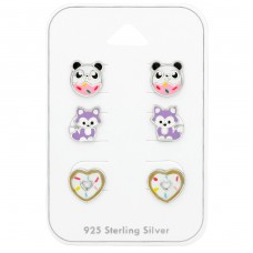Cute - 925 Sterling Silver Jewellery sets for kids A4S38720