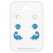 Star - 925 Sterling Silver Jewellery sets for kids A4S38721