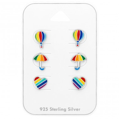 Rainbow - 925 Sterling Silver Jewellery sets for kids A4S38722