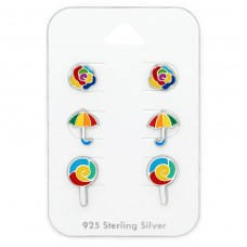 Colorful - 925 Sterling Silver Jewellery sets for kids A4S38723