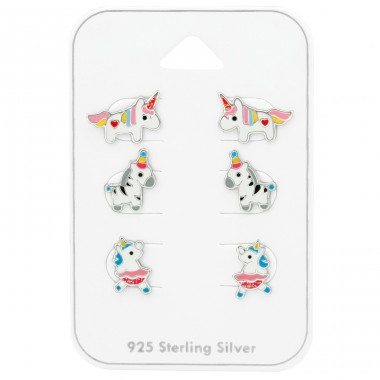 Unicorn - 925 Sterling Silver Jewellery sets for kids A4S38725